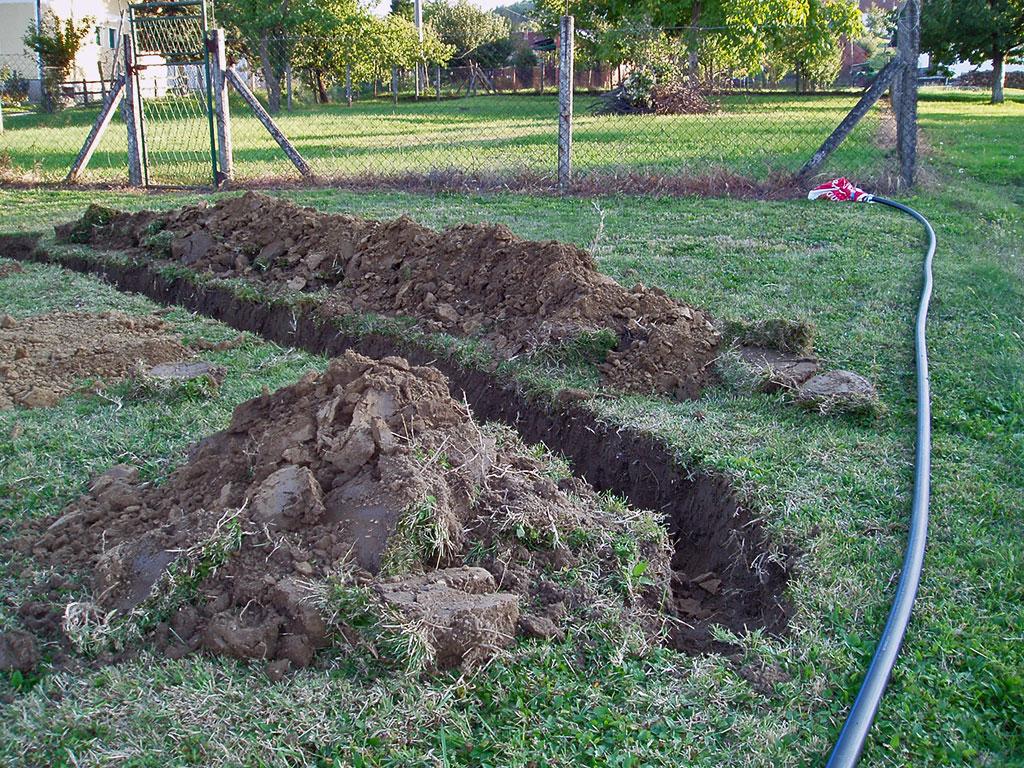 Trebalo je dosta kopati…