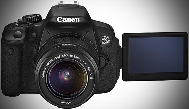 Fotoaparat Canon EOS 650D