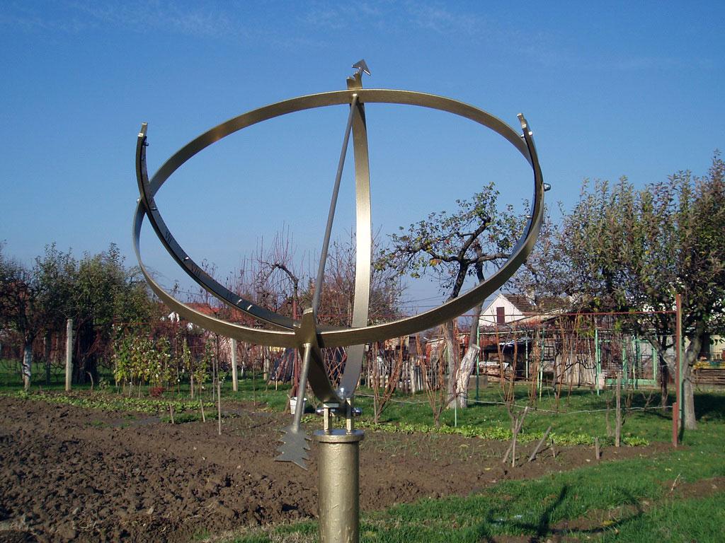 Obruč i poluobruč probijeni strijelom u konačnici pokazuju točno sunčevo vrijeme.