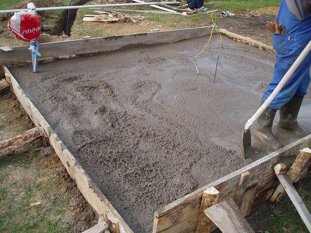 Ponovili smo postupak nalijevanja betona.