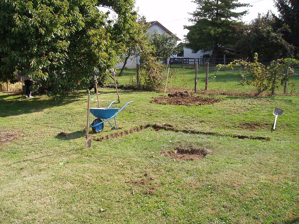 I kopanje je moglo početi. Bilo je to 22. rujna 2013. godine.