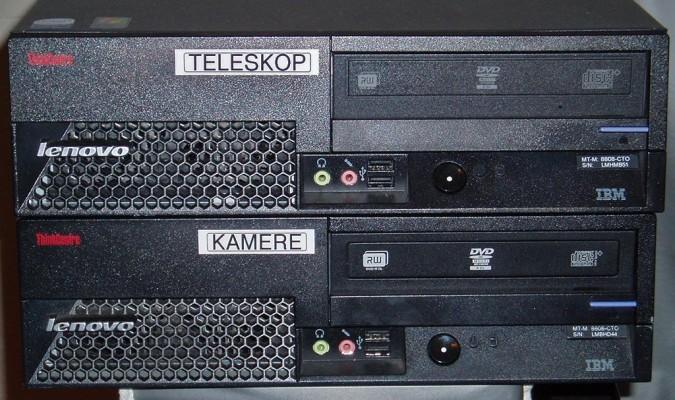 Legendarna računala Lenovo / IBM serije ThinkCentre brinu se o radu zvjezdarnice Apollo.