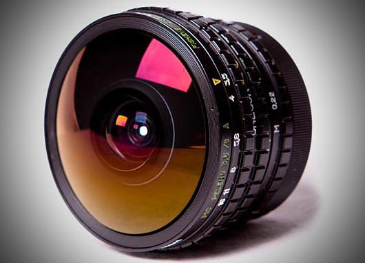 Fisheye objektiv Peleng 8 mm f3.5