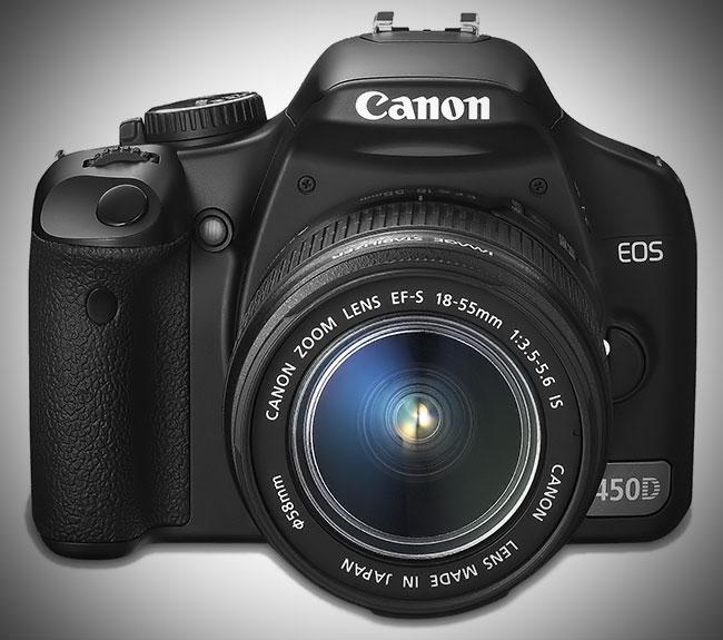 Fotoaparat Canon EOS 450D
