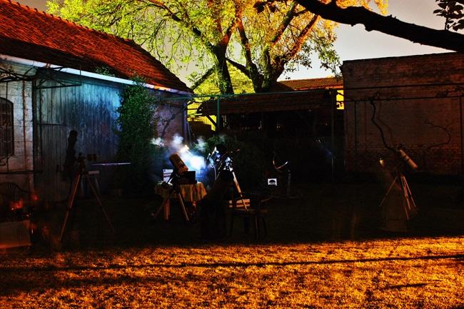 Uz dugačku ekspoziciju možemo snimiti boje mraka. ISO 400, exp. 378 sec. © Snimio: Danijel Reponj