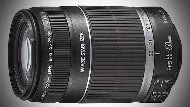 Objektiv Canon Zoom Lens EF-S 18-55 mm