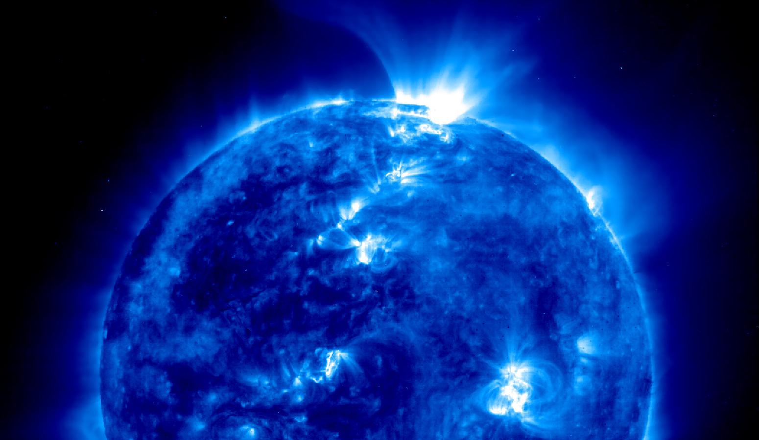 Aktivnost Sunca u 2015. godini