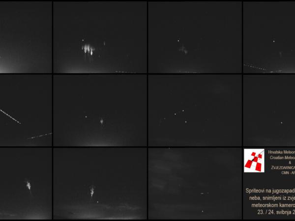 Meteorska kamera snimila spriteove