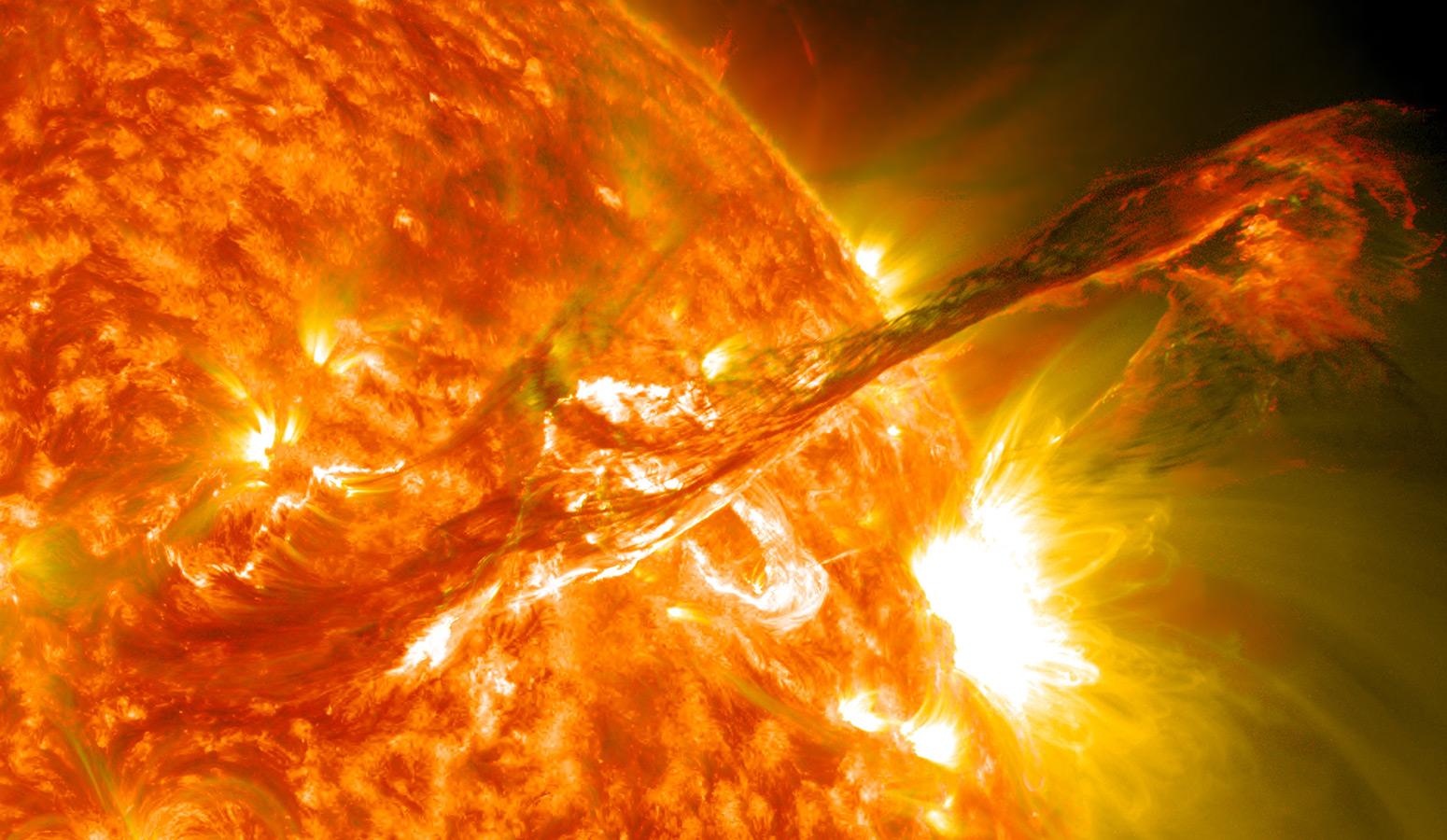 Aktivnost Sunca u 2021. godini