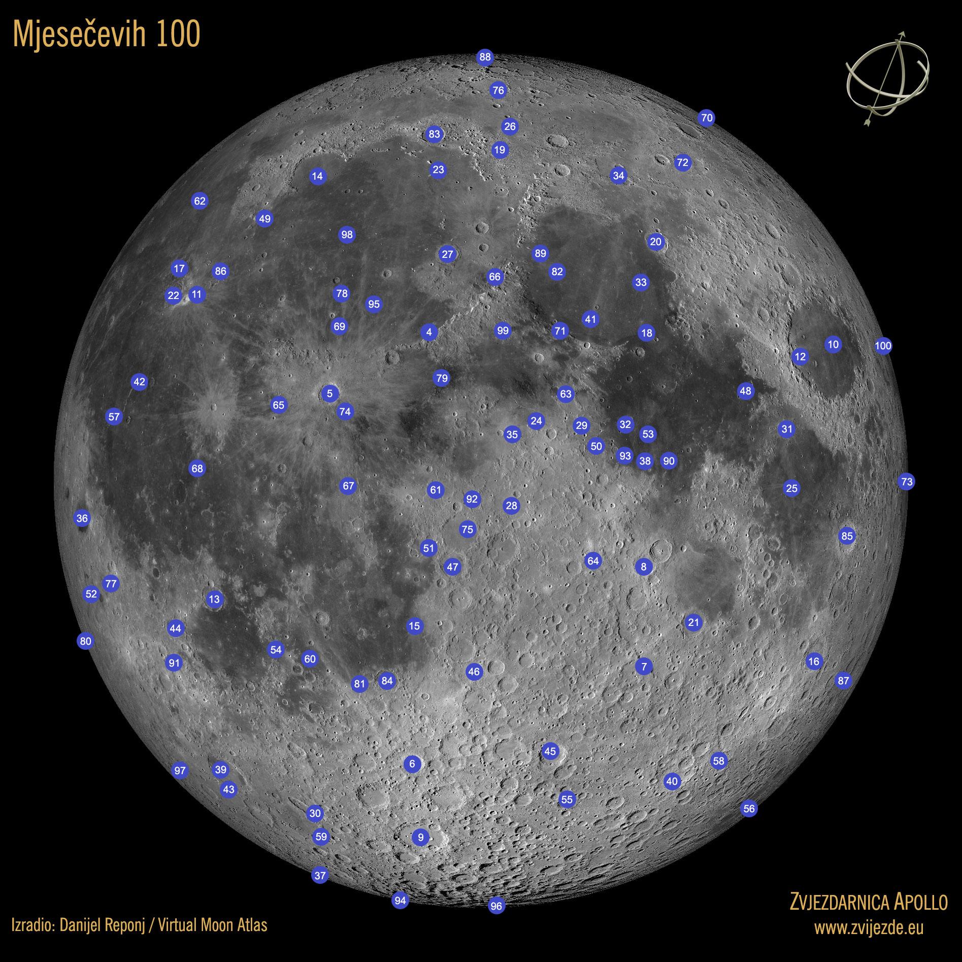 Mjesečevih 100