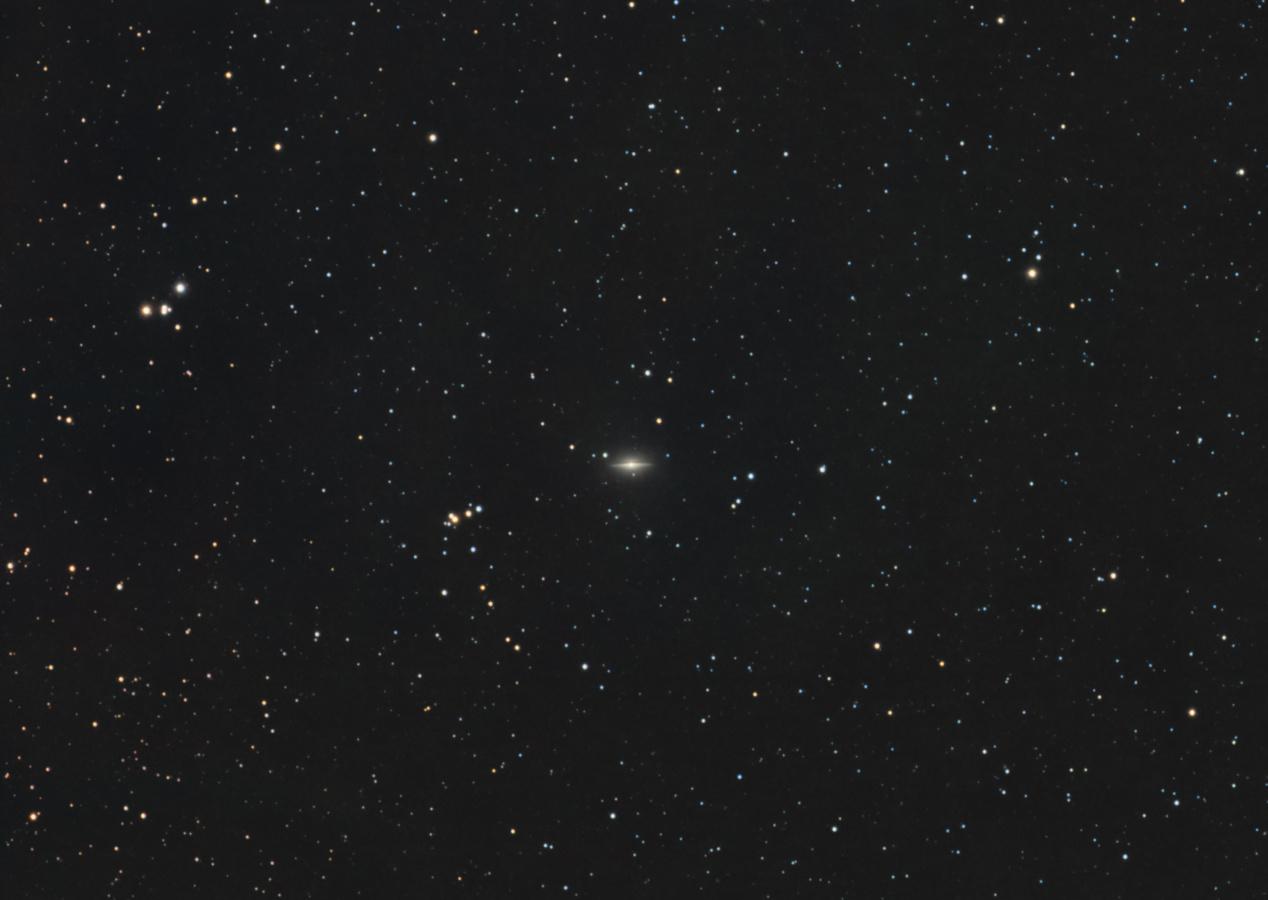 Galaksija M 104 Sombrero