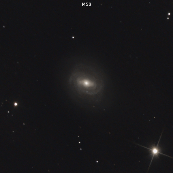 Galaksija M 58